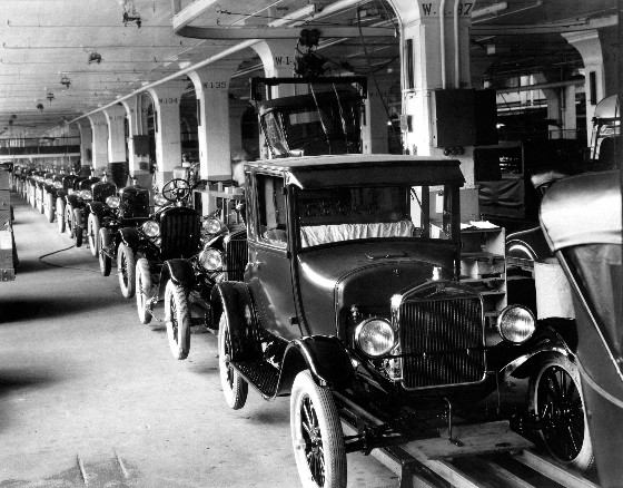 Кто изобрел конвейер на форд номер двигателя на транспортера т4