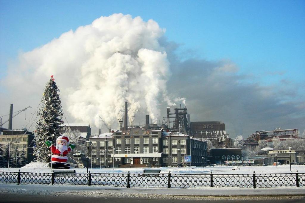 город новокузнецк фото промышленные панорамы спустя некоторое